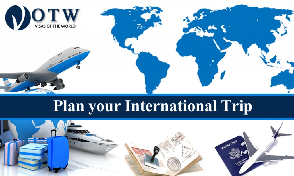 Plan your International Trip