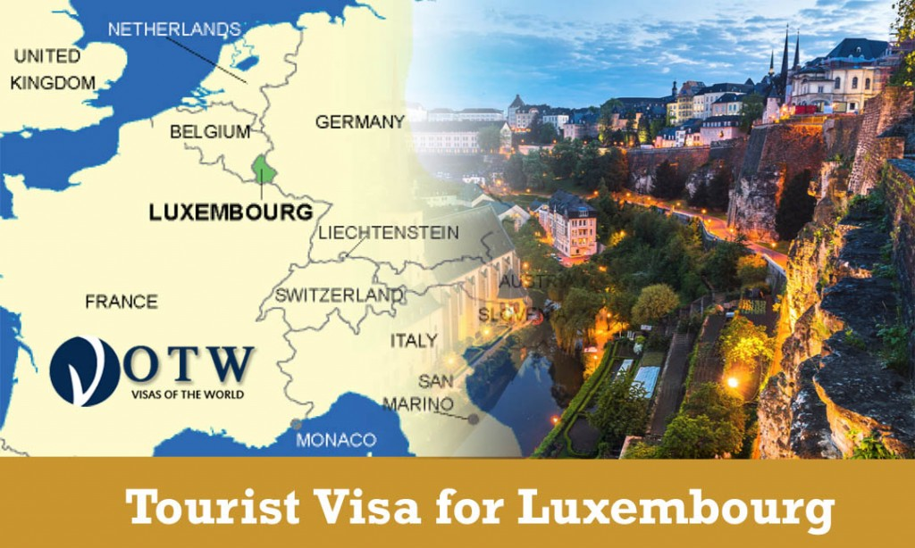 Tourist Visa for Luxembourg