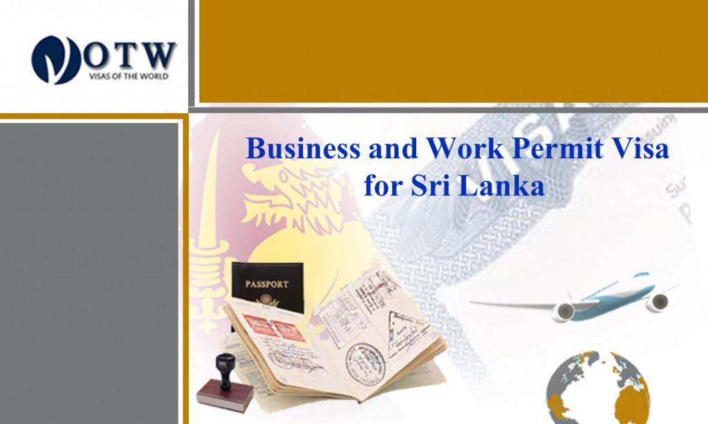 Work Permit and Business Visa in Sri Lanka