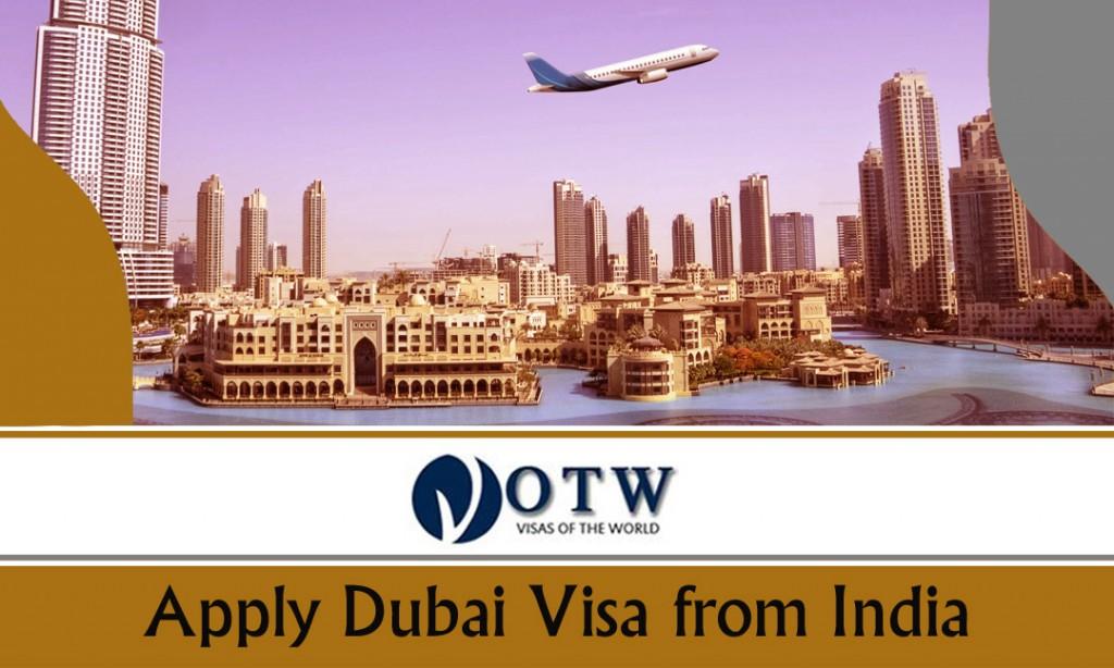 Apply Dubai Visa from India