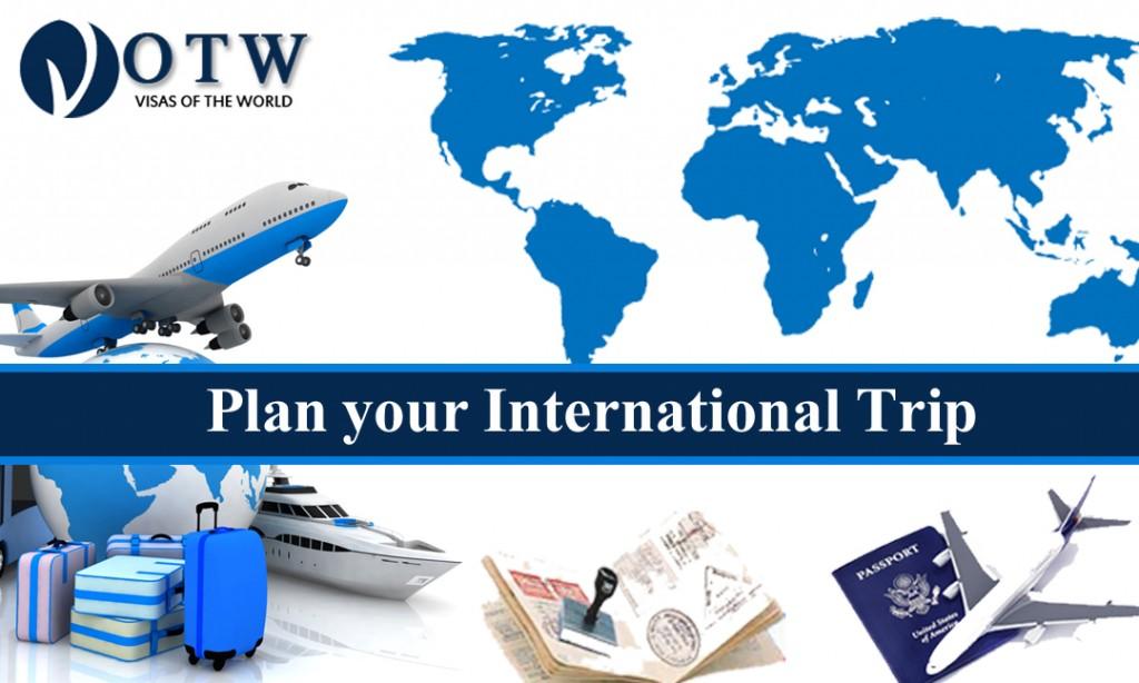 Plan your International Trip