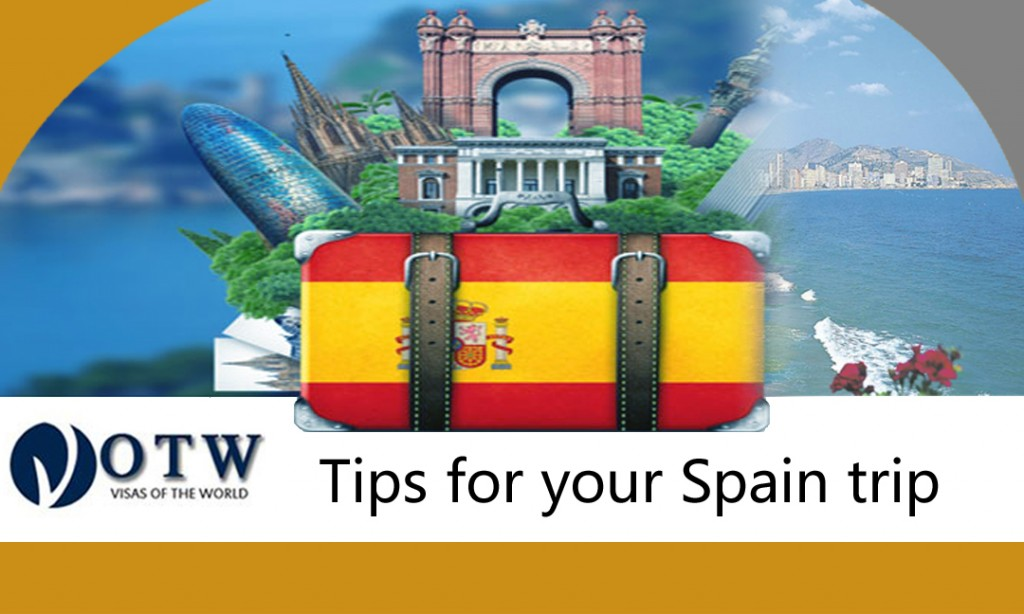 Tips for Spain trip