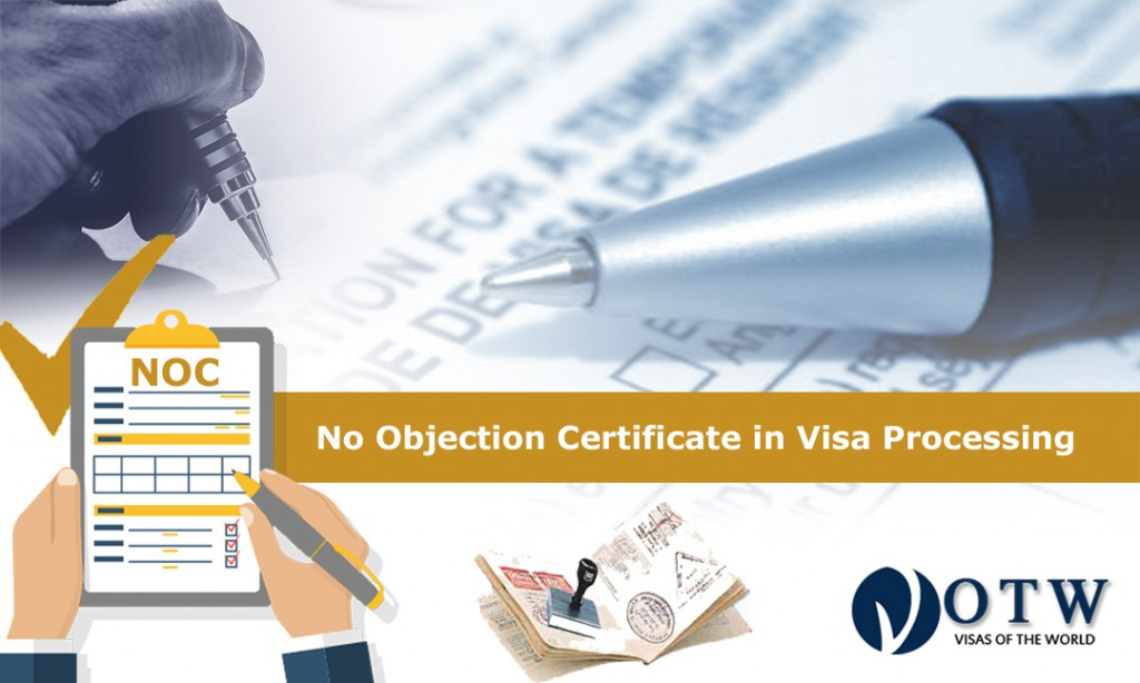 No Objection Certificate in Visa Processing