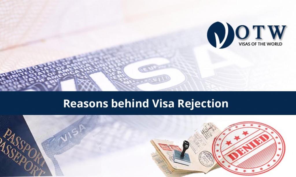Reasons behind Visa Rejection