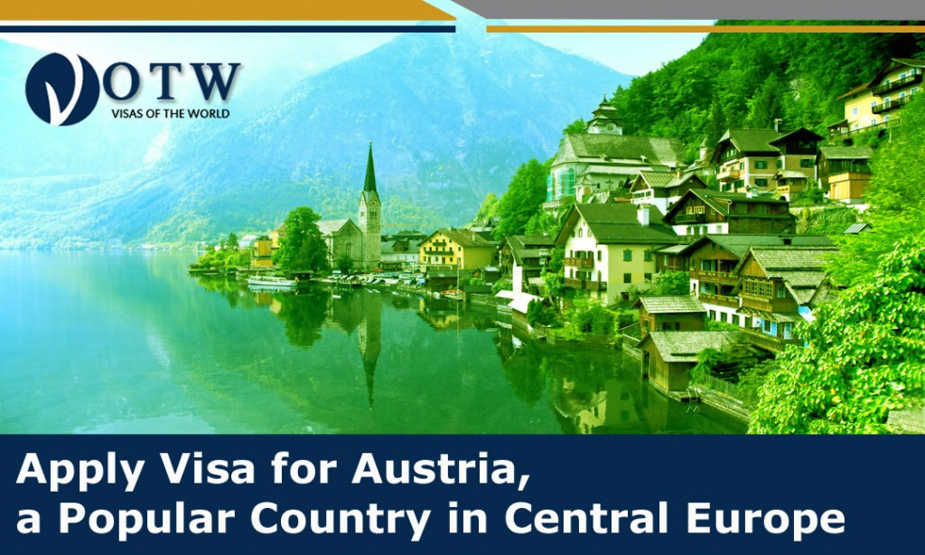 Apply Visa for Austria, a Popular Country in Central Europe
