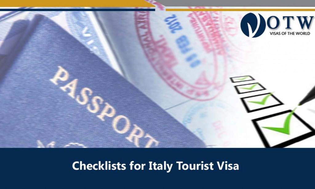 Italy Tourist Visa