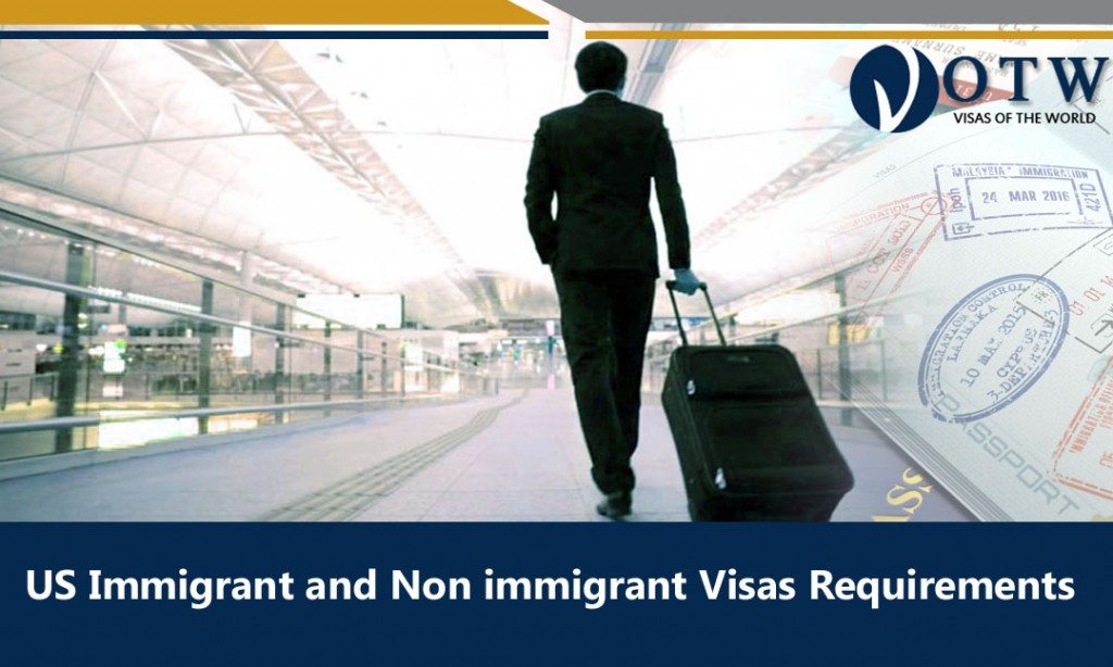 The US Immigrant and Non immigrant Visas Requirements